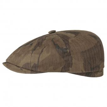 Stetson Cap Hatteras waxed Cotton camouflage | 60