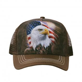 The Mountain Cap Independence Eagle braun