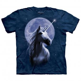 The Mountain T-Shirt Starlight Unicorn blau | L